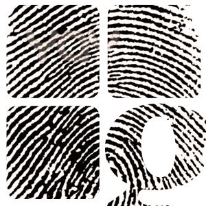 logo imprenta huellas